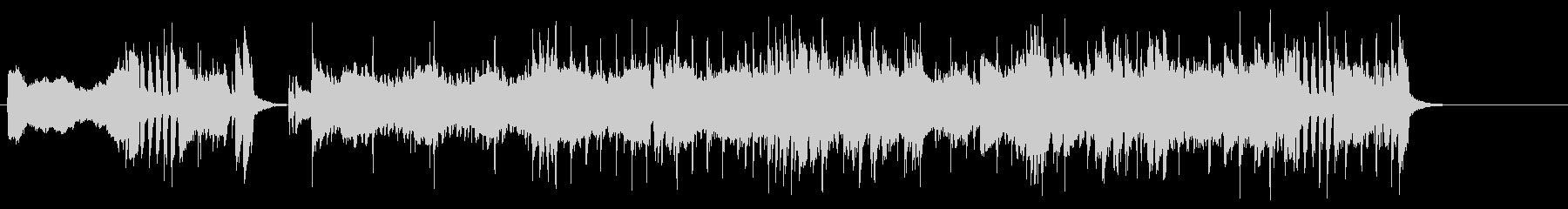 オープニング・テーマ向きの曲の未再生の波形