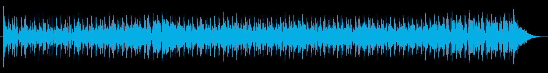ベースがうねるバトル系テクノロックの再生済みの波形