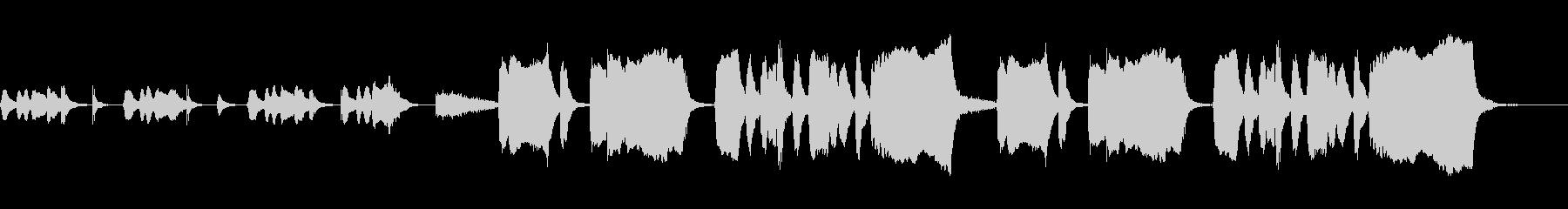 考え中・バスクラリネット・ファゴットの未再生の波形