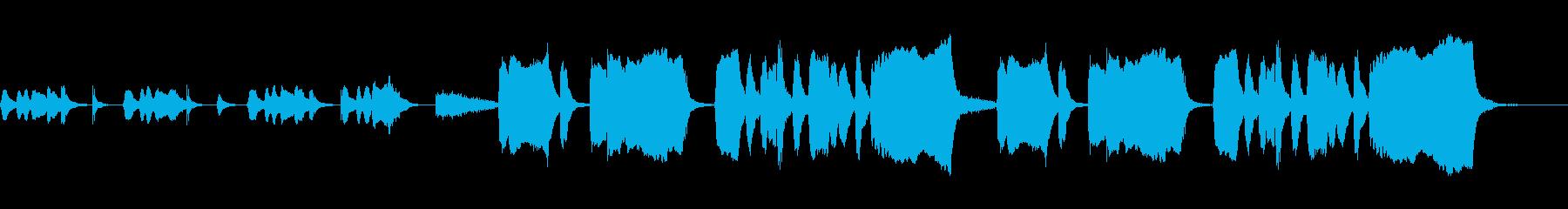 考え中・バスクラリネット・ファゴットの再生済みの波形