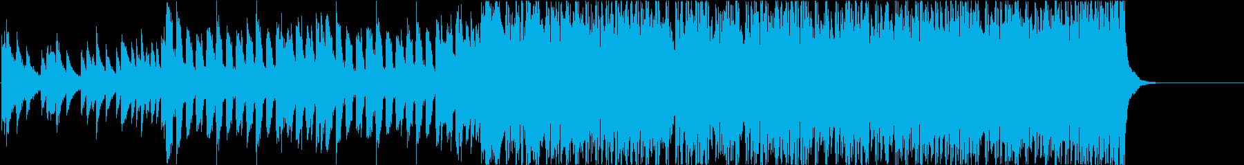ピアノとシンセで叙情的な最終回のBGMの再生済みの波形