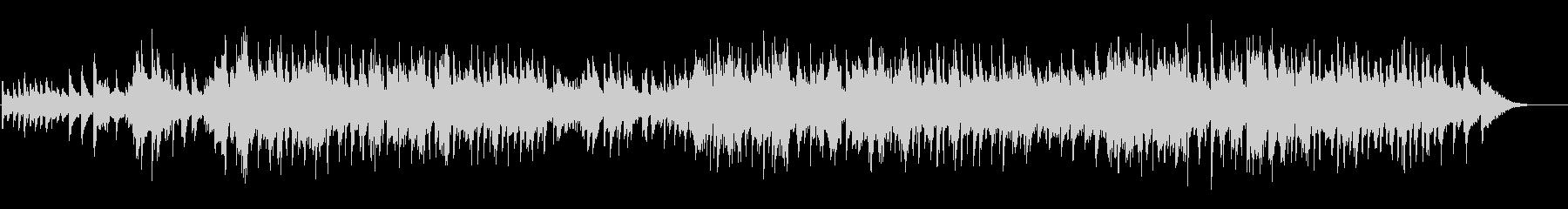ジェントル&メローなジャズ・バラードの未再生の波形