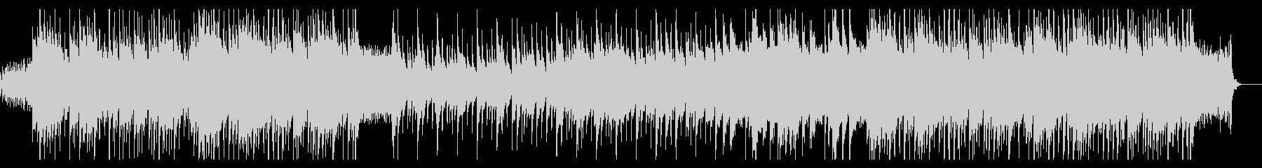 ニュース・情報番組、清涼ピアノポップスMの未再生の波形