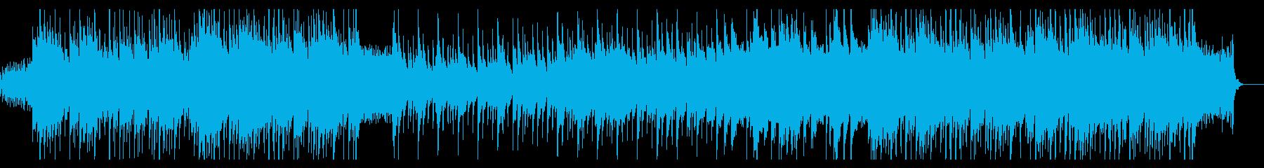 ニュース・情報番組、清涼ピアノポップスMの再生済みの波形