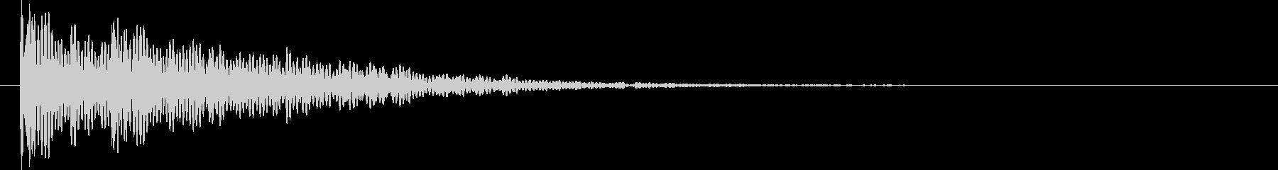 ドゥグーン。心臓の音F(ウネリ・残響)の未再生の波形