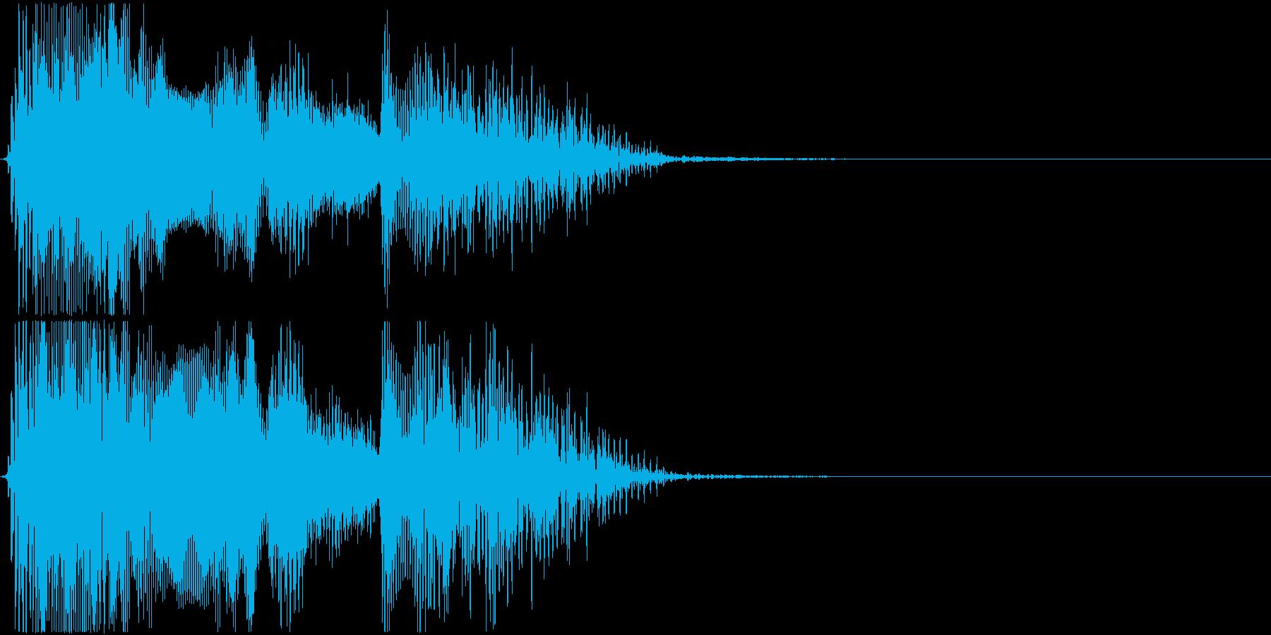 格闘ゲーム用「ラウンド4」の再生済みの波形