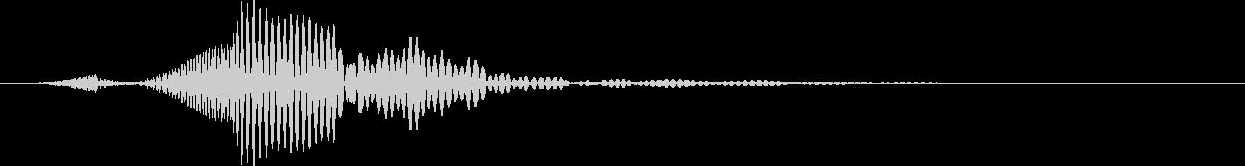 お知らせ シンセドロップステップ01の未再生の波形