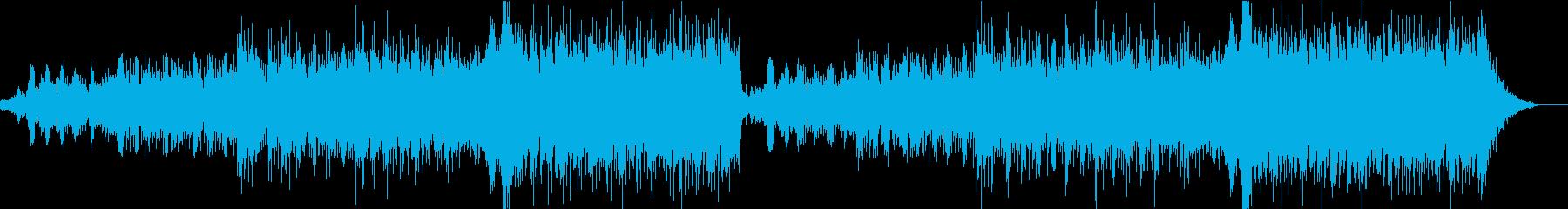 エレクトロ 交響曲 広い 壮大 感...の再生済みの波形