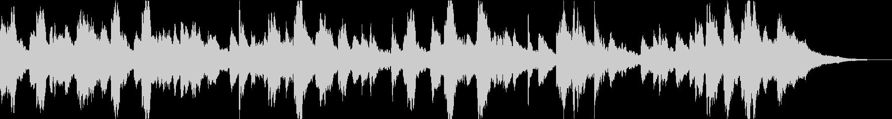 ドキュメンタリーに最適アンビエントピアノの未再生の波形