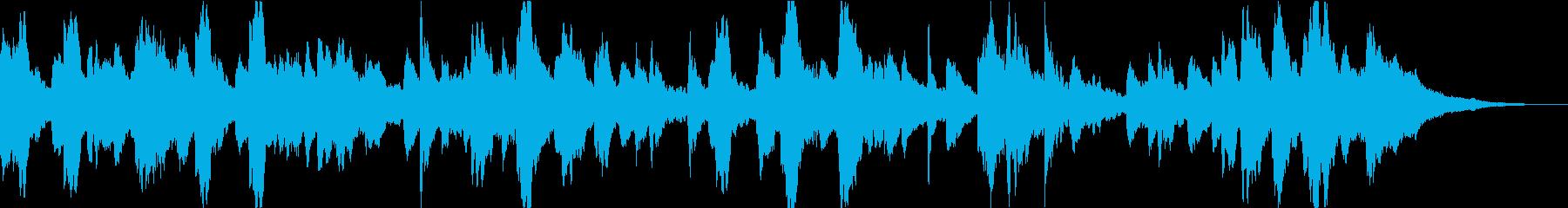 ドキュメンタリーに最適アンビエントピアノの再生済みの波形