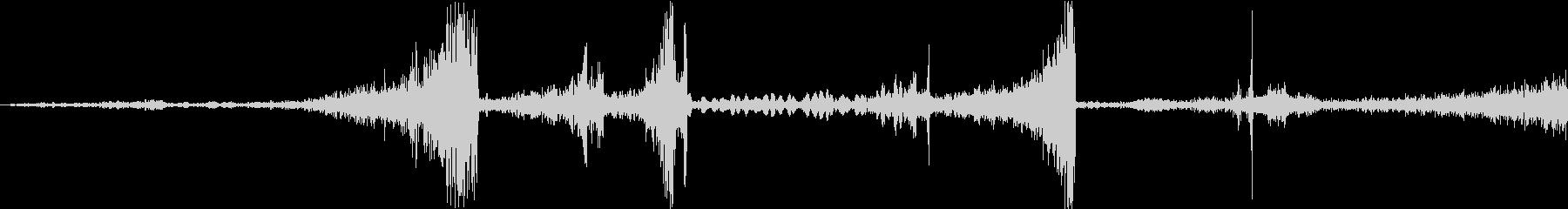 Zap 巻き戻し音・ザップ効果音 6の未再生の波形