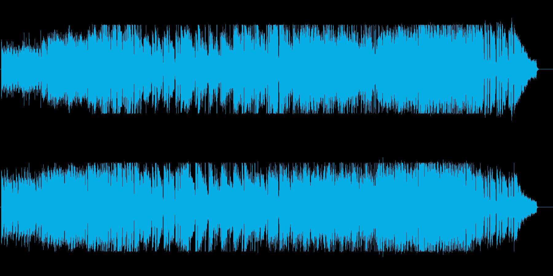 おしゃれな雰囲気 演奏感 フュージョンの再生済みの波形