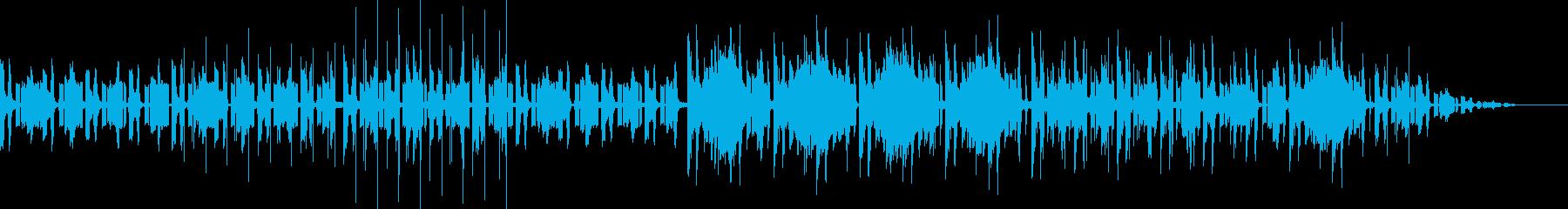 mellow&lofihiphopの再生済みの波形