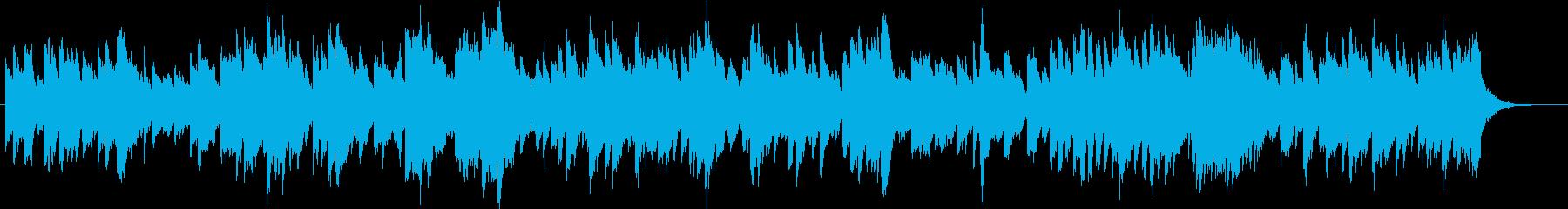 ハープで優しくエレガントなノクターン。の再生済みの波形