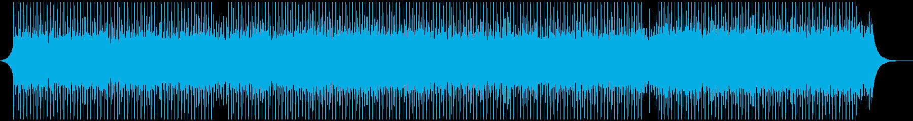 作業の再生済みの波形