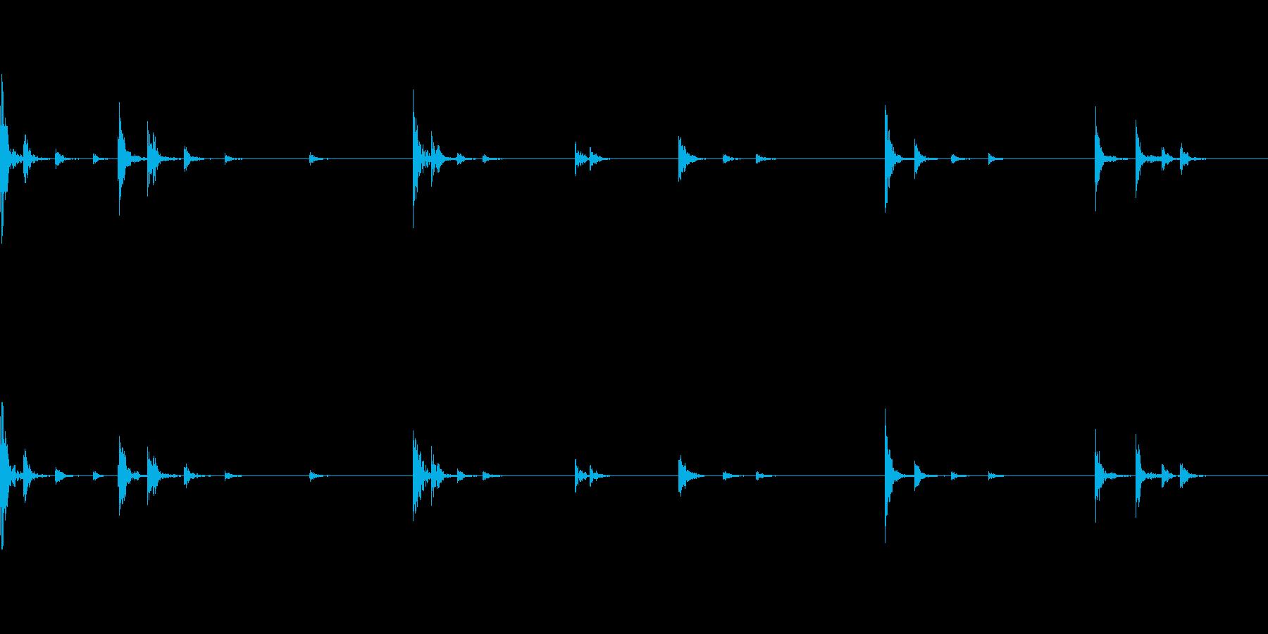 チリーン...チリーン(風鈴)の再生済みの波形
