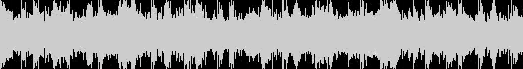 激しいアクション向けオーケストラの未再生の波形