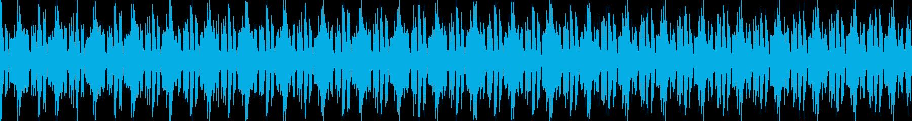 軽快でコミカルな日常系ジングルの再生済みの波形