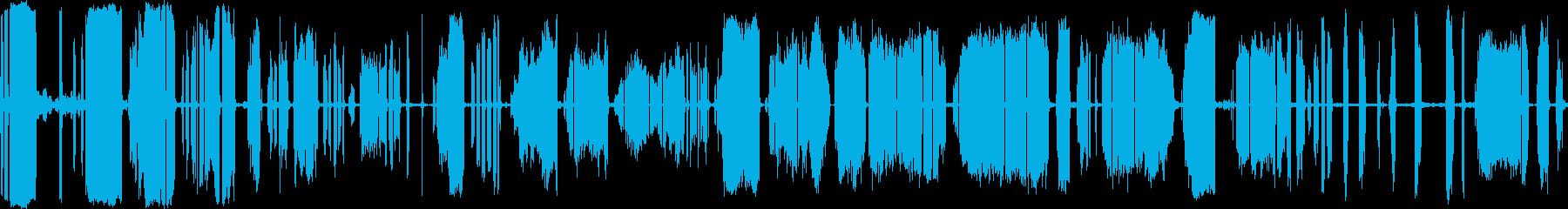 布裂けの再生済みの波形