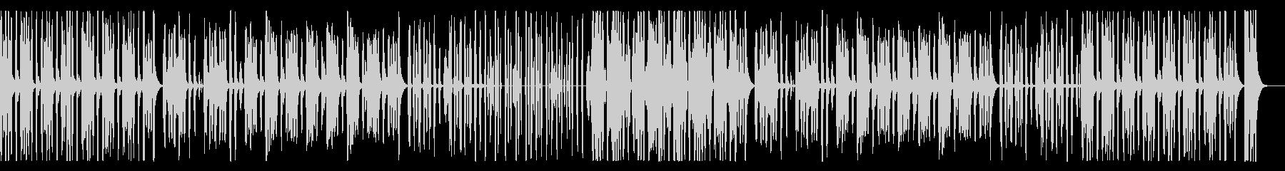 かわいいほのぼのリコーダー、子供の未再生の波形