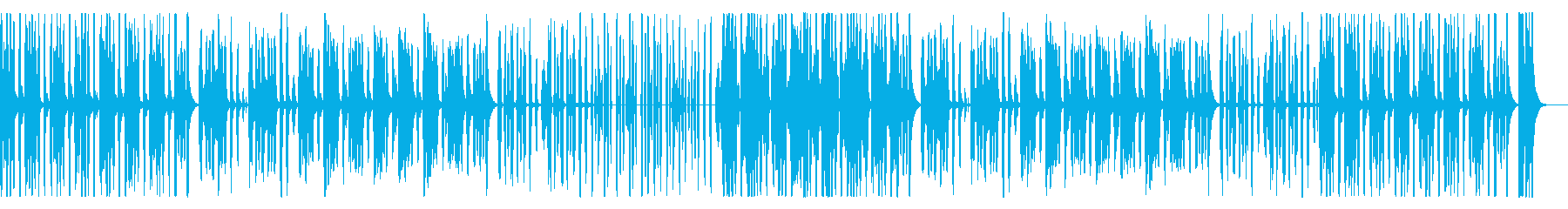 かわいいほのぼのリコーダー、子供の再生済みの波形