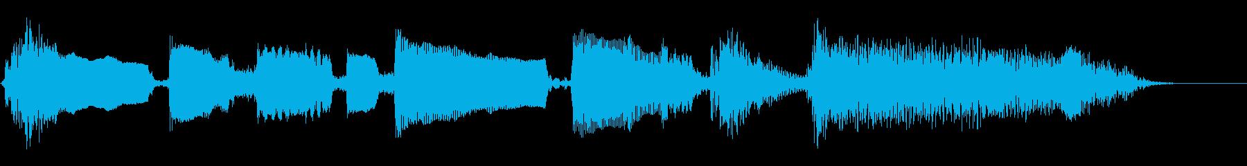 ブルース エンディング 節目 の再生済みの波形