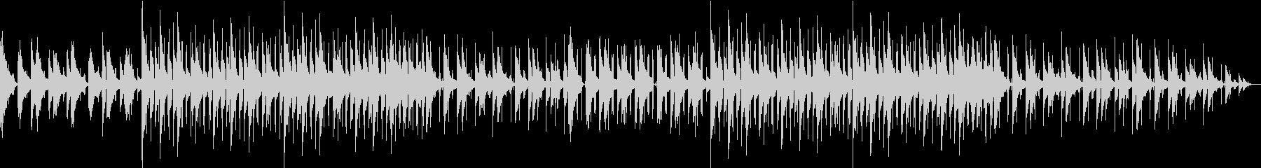 ピアノ 睡眠 LoFi スロー 深夜の未再生の波形
