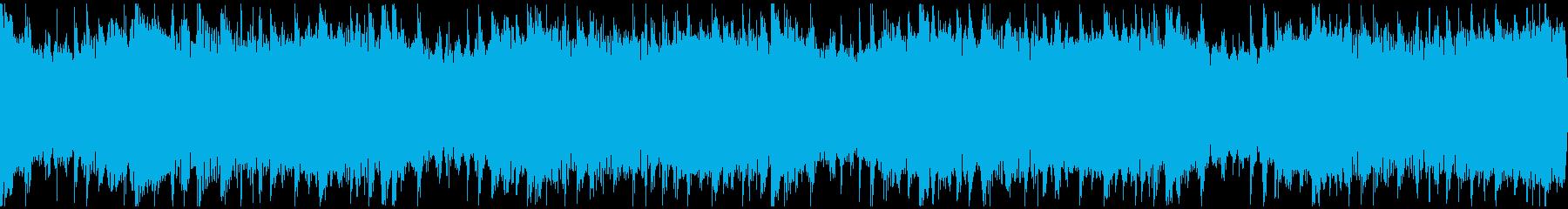 感動を演出するCM、爽やか動画、ループ1の再生済みの波形