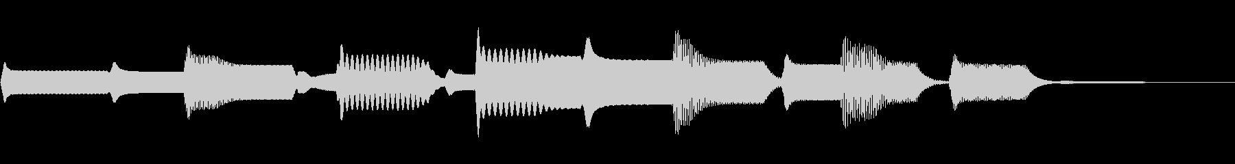 ビープスボンクスボインズ2の未再生の波形