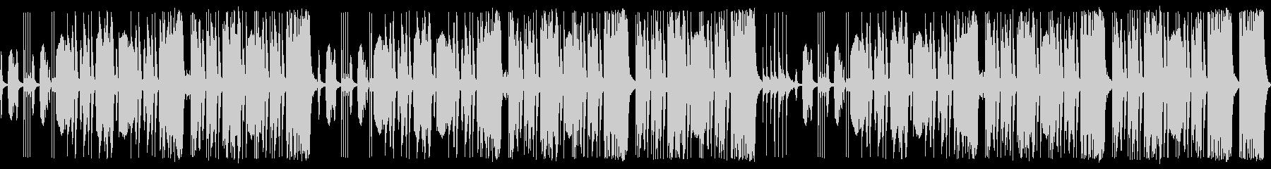 ヨチヨチ歩きの小さな怪獣 ループ仕様の未再生の波形