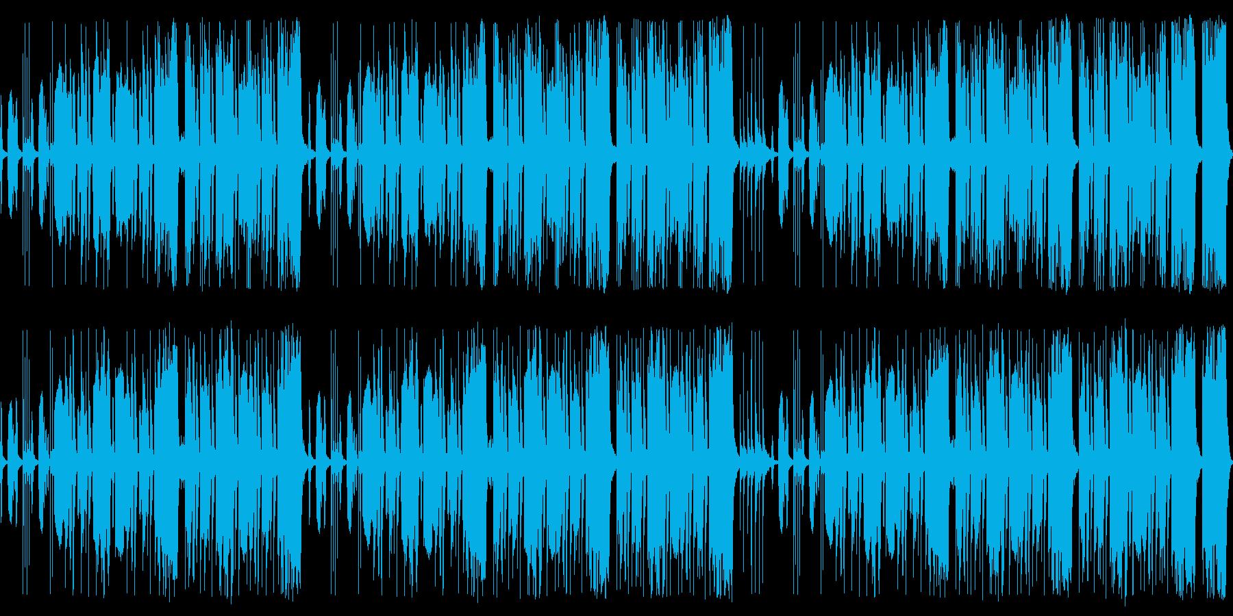 ヨチヨチ歩きの小さな怪獣 ループ仕様の再生済みの波形