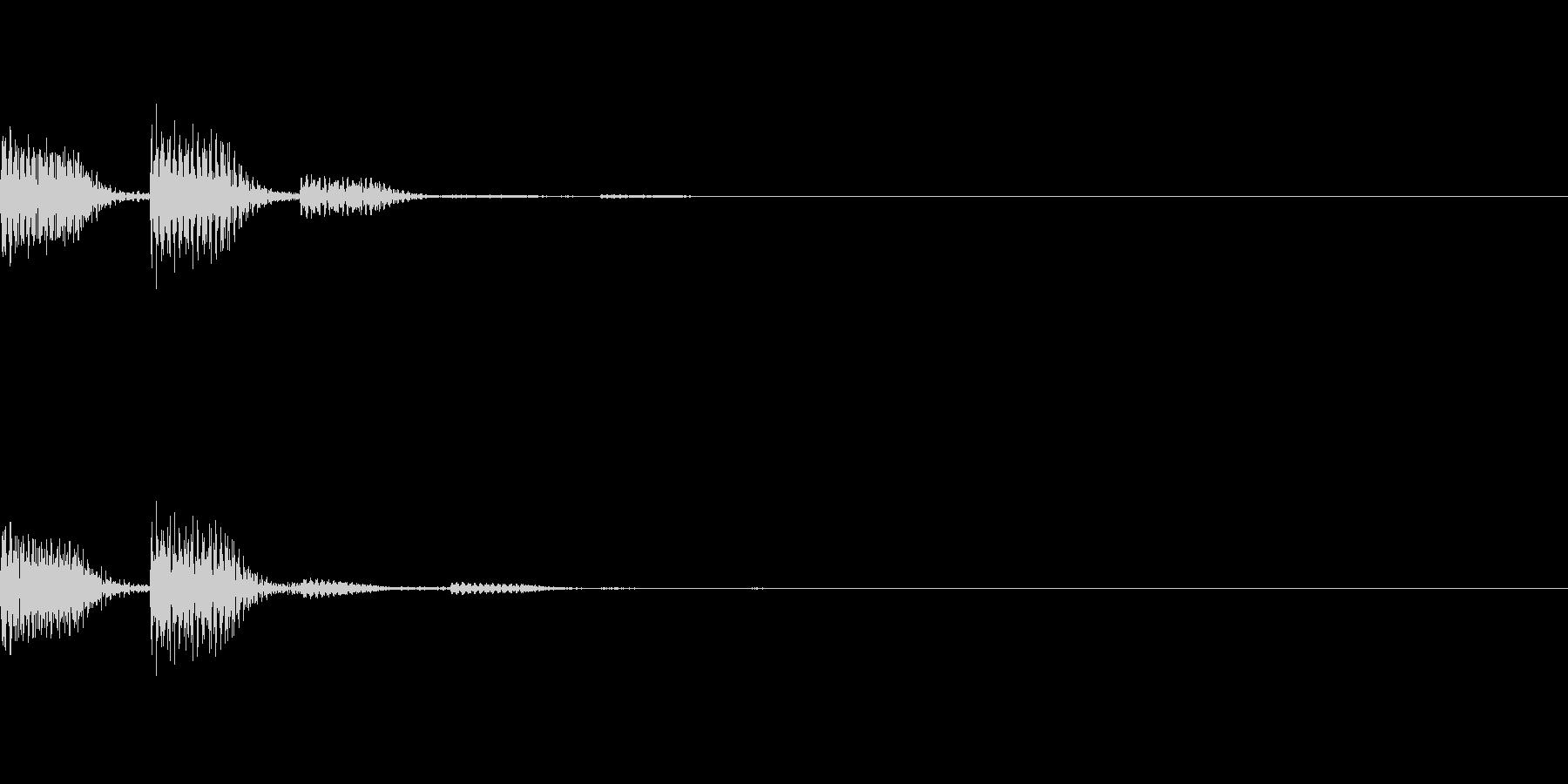 POPKEY ポップな通知音 4の未再生の波形