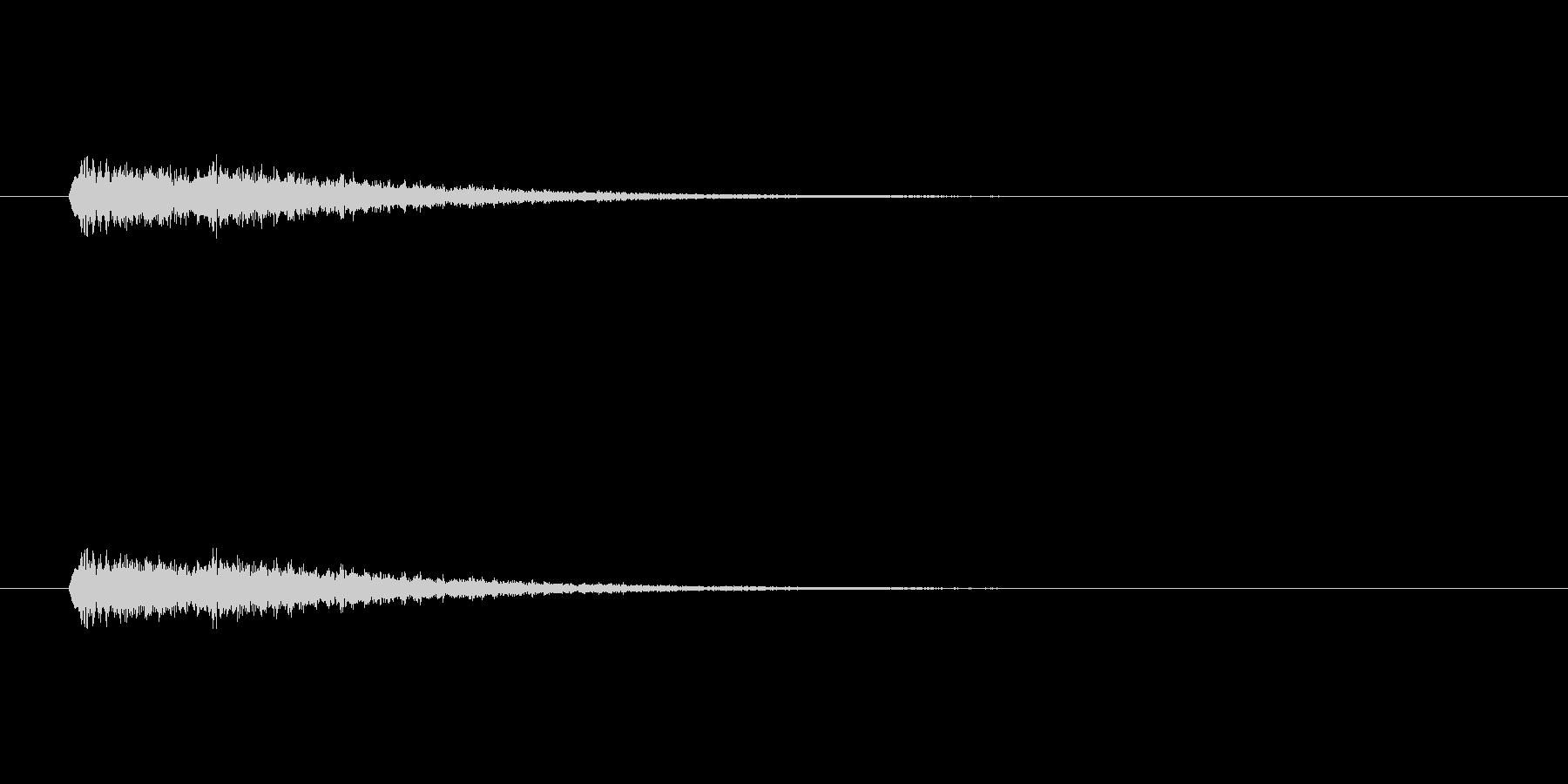 【ショートブリッジ30-1】の未再生の波形