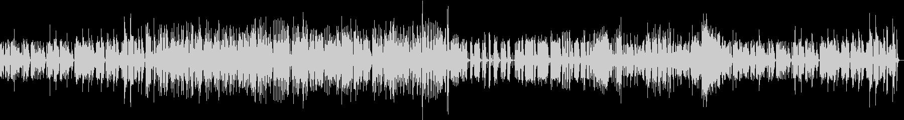 マリンバ・カルテットのジャズ・ブルースの未再生の波形