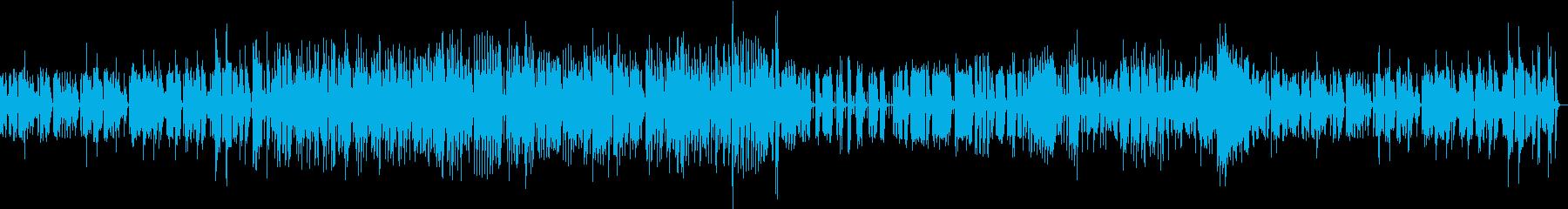 マリンバ・カルテットのジャズ・ブルースの再生済みの波形