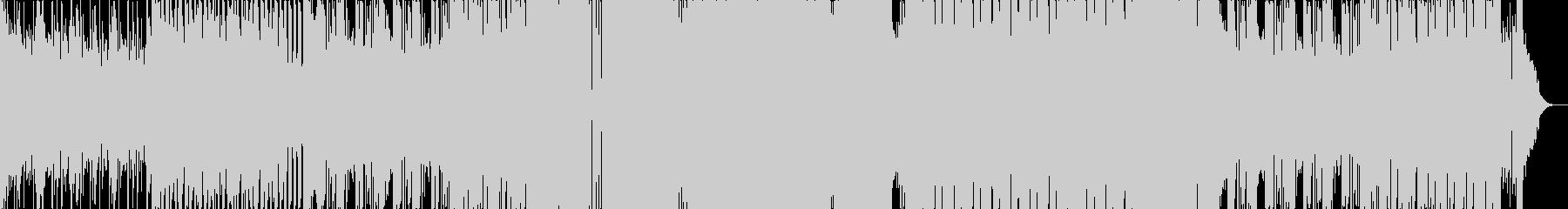シンプルなジャングルテラーの未再生の波形