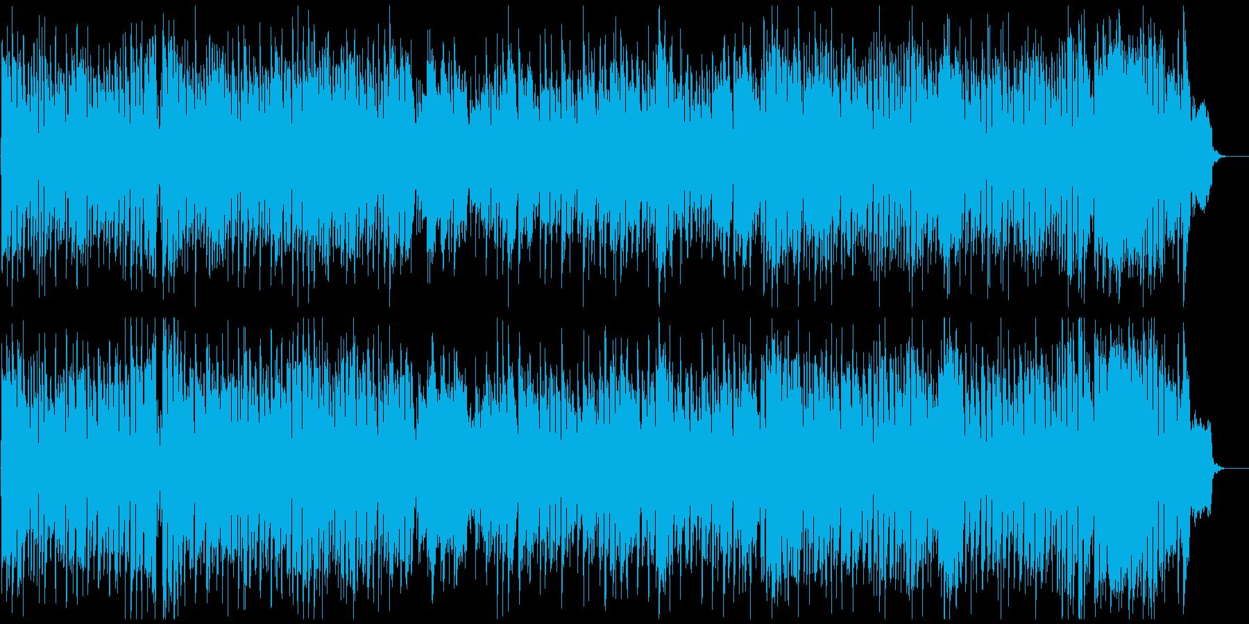 ひょうきんで元気なギャグ系リコーダー曲の再生済みの波形