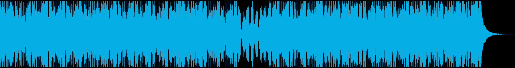 独特のリードメロディー、エッジの効...の再生済みの波形