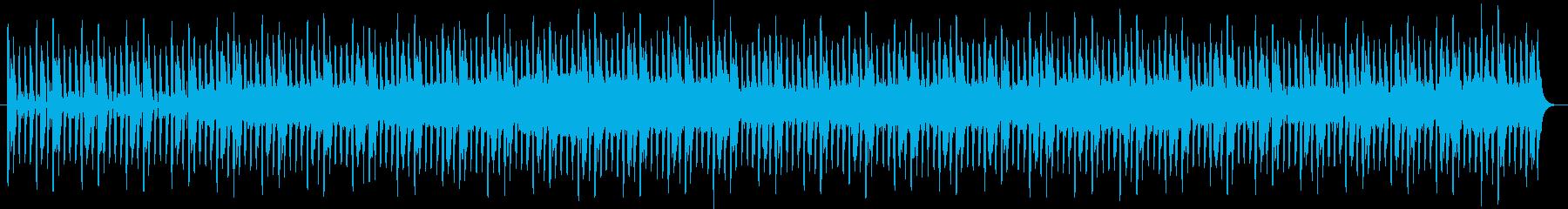 ストイックなサイバー感4つ打ちの再生済みの波形