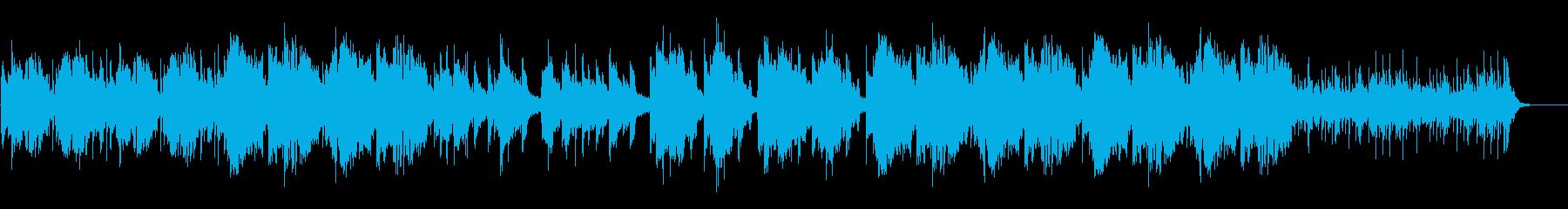 中国の王宮で流れてそうな中国伝統音楽の再生済みの波形