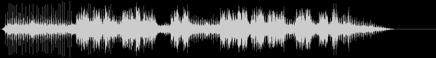 鉄道ホール旋盤の未再生の波形