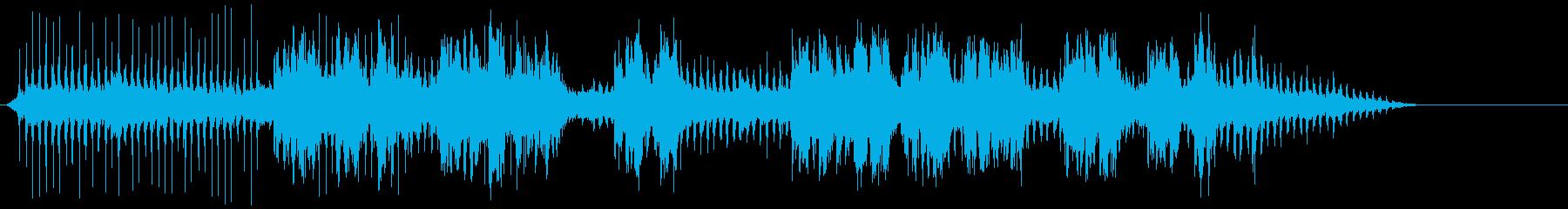 鉄道ホール旋盤の再生済みの波形