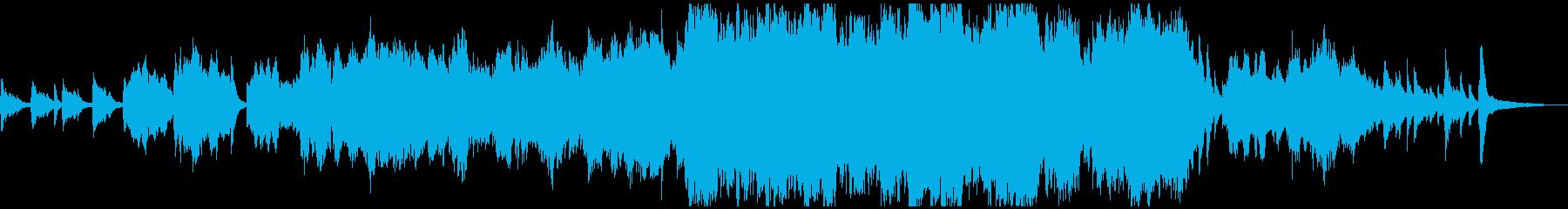 あたたかく感動的なチェロのバラードの再生済みの波形