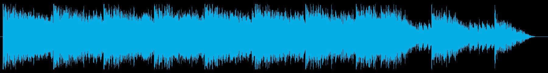 笛・箏・太鼓・オーケストラの和風バトルの再生済みの波形