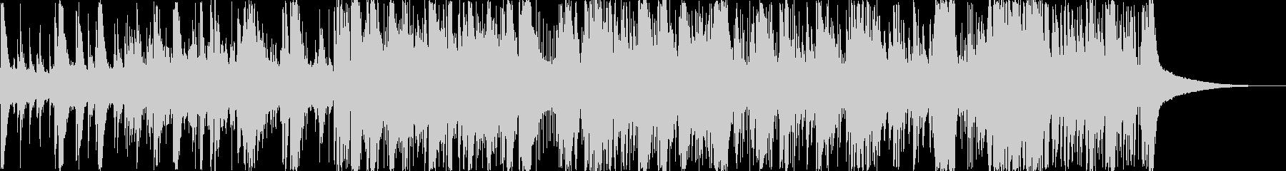 壮大なイメージの曲の未再生の波形