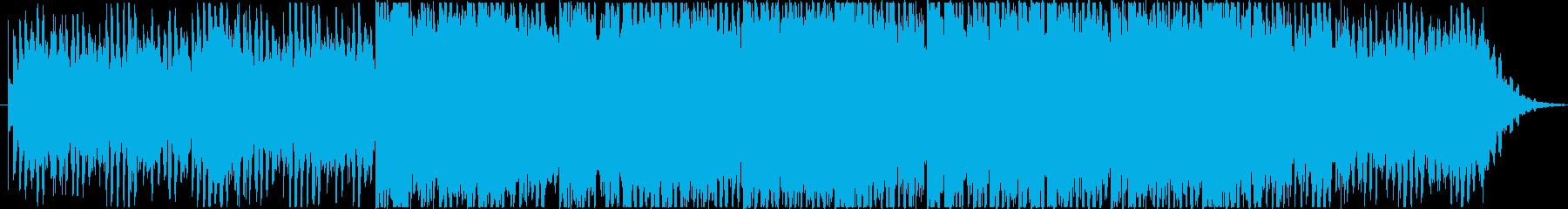 雫から大河へ変わって行くイメージのBGMの再生済みの波形