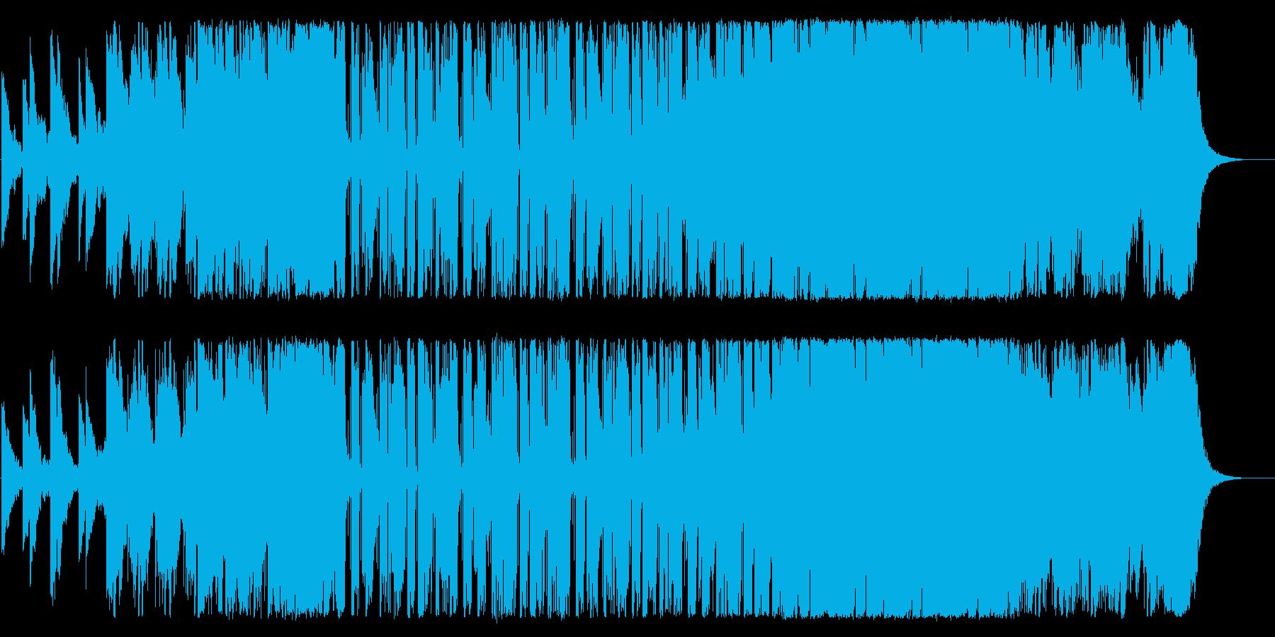 切ない恋愛にぴったりのポップEDMの再生済みの波形