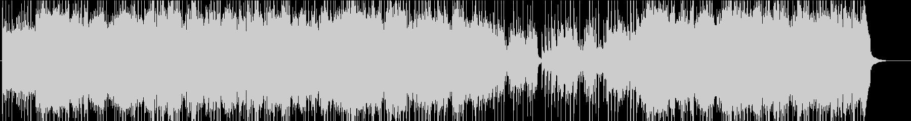 ムーンライト・セレナーデの和風アレンジの未再生の波形