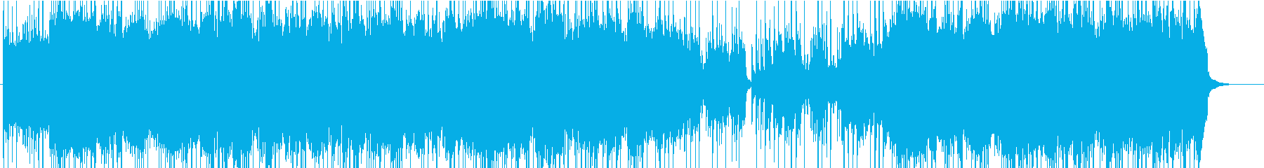 ムーンライト・セレナーデの和風アレンジの再生済みの波形