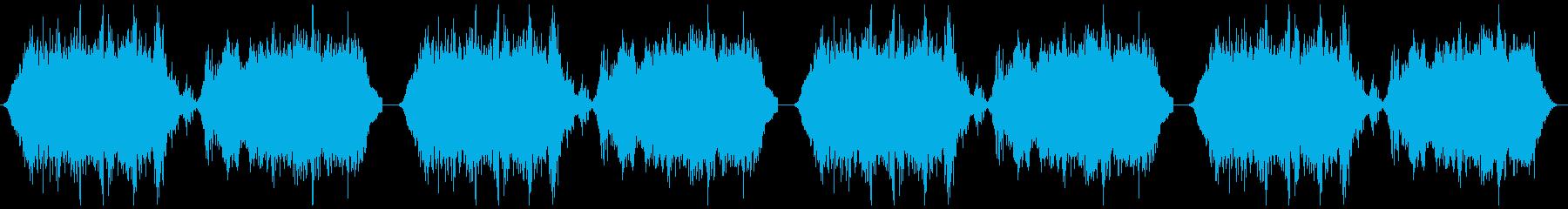 心霊写真 恐怖映像 ホラーゲーム用BGMの再生済みの波形